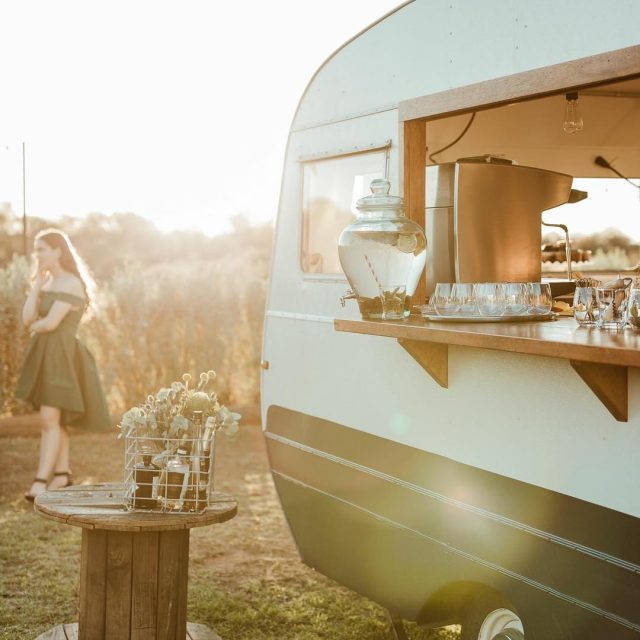 Vintage van vibes via awesome new catering co and travelinghellip